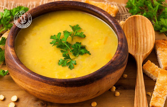 Công thức bột yến mạch + đậu lăng