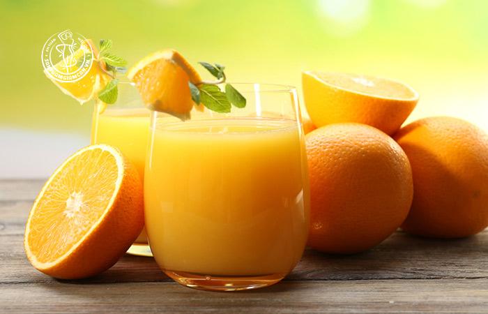 Cách làm nước cam giảm cân ngon mà dễ làm