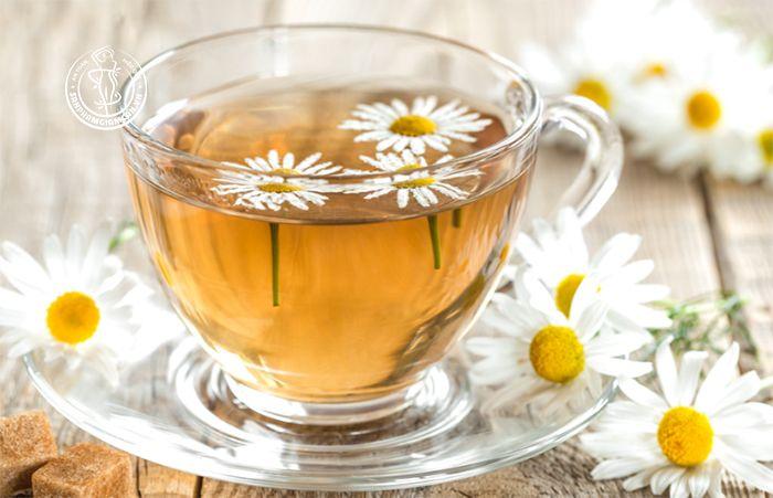 Cách pha trà hoa cúc giảm cân