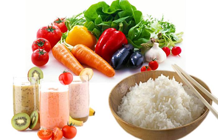 Chế độ ăn kiêng giảm cân ngày 7