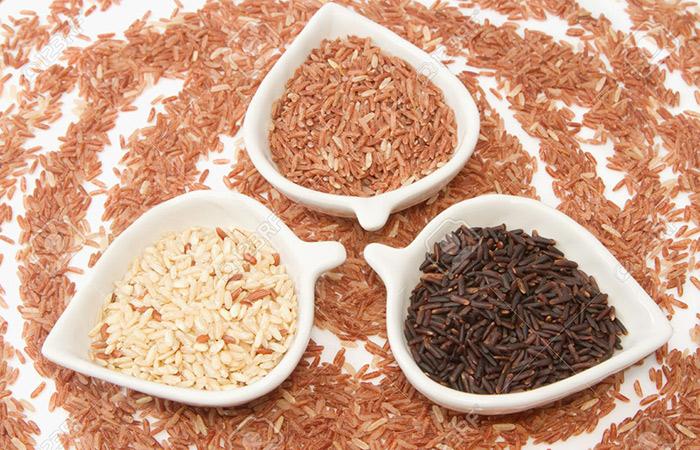Món cốm gạo lứt rất tốt cho việc giảm cân