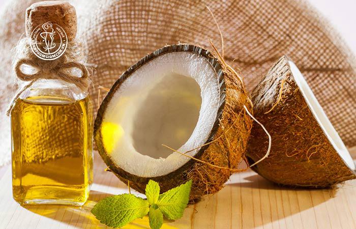 Công thức giảm cân tại nhà với dầu dừa