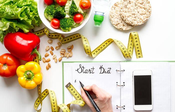 kế hoạch giảm 8 cân trong 2 tuần