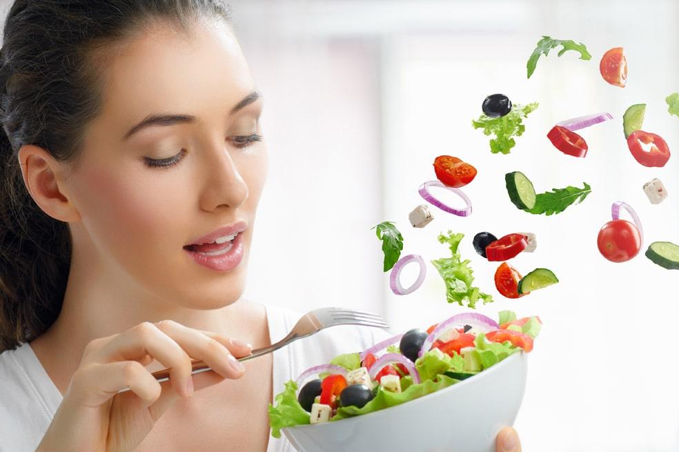 Phương pháp giảm cân không cần ăn kiêng và tập thể dục không thể thiếu rau củ quả