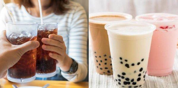 Hạn chế uống trà sữa và đồ uống có ga
