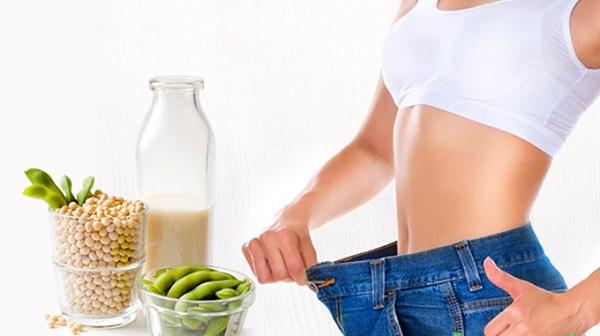 Giảm cân với mầm đậu nành khi uống trước bữa ăn khoảng 20 – 30 phút