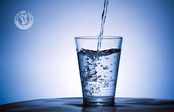 Lịch uống nước giảm cân sao cho hợp lý