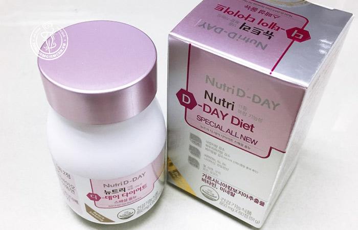 Viên giảm cân nutri d day có nhiều điểm mạnh