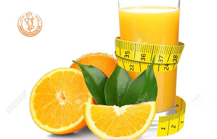 Nước cam giảm cân, liệu có thật không?