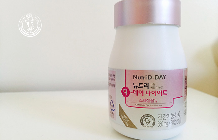Thuốc giảm cân nutri d day Hàn Quốc