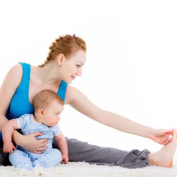 Tập thể dục để giảm cân khi cho con bú