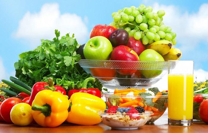 Rau củ quả và những thực phẩm lành mạnh