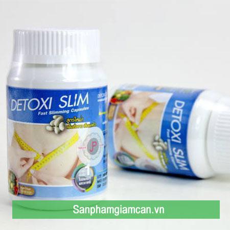 Giảm cân Detox Slim nguồn gốc Thái Lan