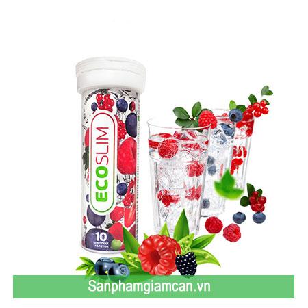 Eco Slim bổ sung vitamin hỗ trợ giảm cân