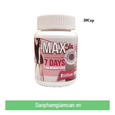 Thuốc giảm cân Max 7 Day được nhiều người sử dụng