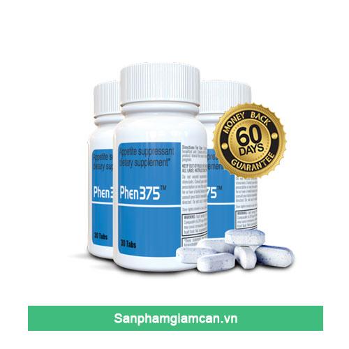 Phen 375 Thuốc giảm cân tốt nhất tại Mỹ