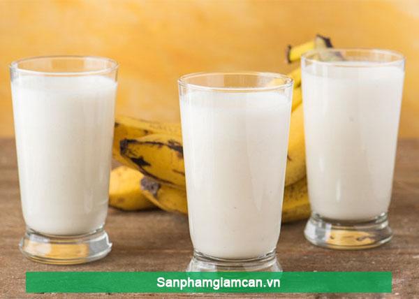 Chuối + Sữa chua mùi thơm của chuối dưỡng chất từ sữa chua wow