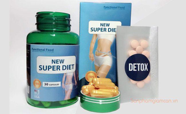 Giảm cân New Super Diet nhập khẩu Mỹ