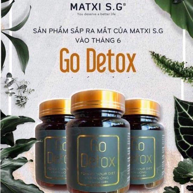 Viên uống giảm cân Godetox