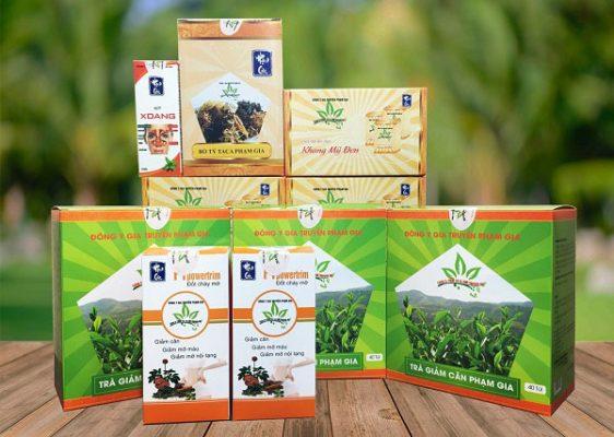 Trà Phạm Gia sử dụng tương tự các loại trà túi lọc