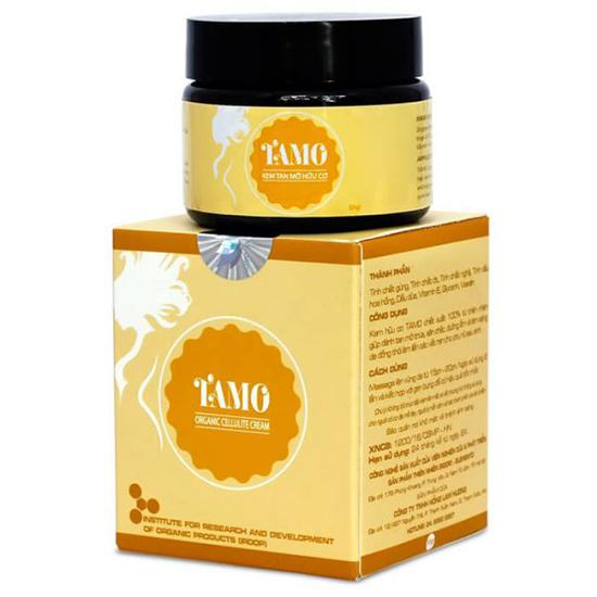 Kem tan mỡ Tamo 100% hữu cơ