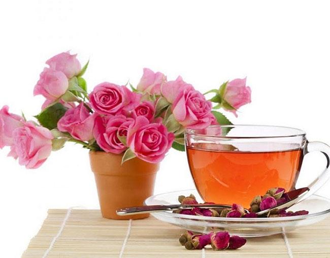 Cánh hoa hồng chứa nhiều hợp chất tốt cho sức khỏe