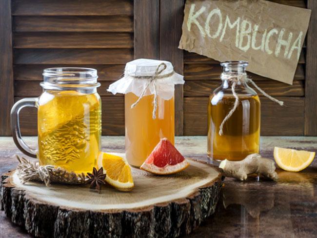Công thức pha Kombucha thông qua 5 bước