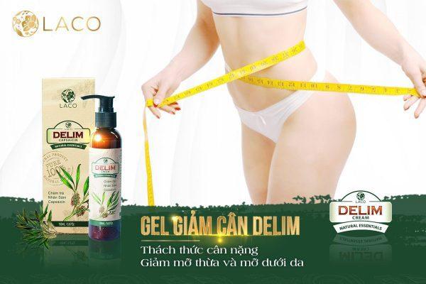 Delim Cream hỗ trợ giảm béo nhờ thảo dược thiên nhiên