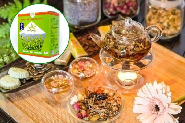 Thành phần của trà giảm cân Phạm Gia là gì?