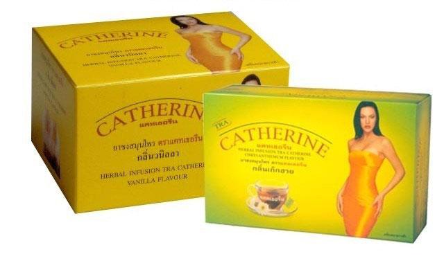 Trà giảm cân thải độc Catherine