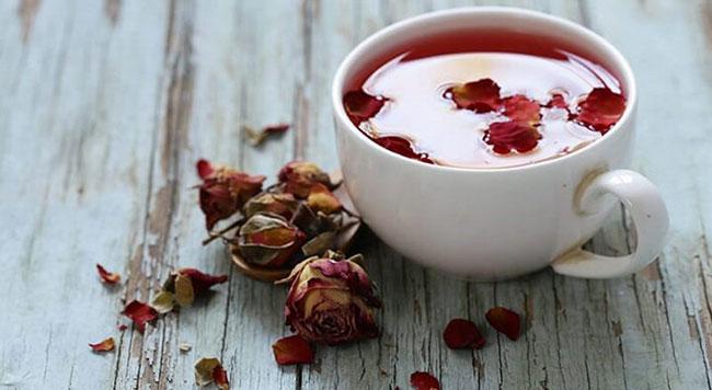 Công thức trà nụ hồng khô