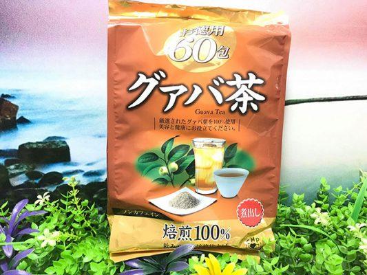 Trà lá ổi giảm cân Nhật